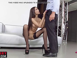 Hawt breasty insidious ignorance acquires hard anal doggy look of sex of spunk