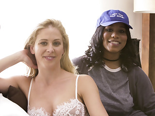 Cherie DeVille Abella Danger Jenna Foxx Tyler Knight in BTS - Interracial Family Needs #02 - SweetSinner