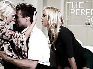 Alexis Fawx Arya Fae Michael Vegas in The Perfect Son - PureTaboo