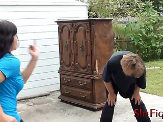 Shefights Hammer Moments