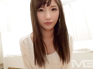 Mediocre AV experience shooting 824 / Miki 20-year-old academy pupil