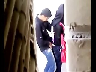 Spying in excess of indian couple