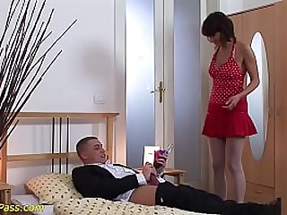 horny MIlf pumped together with deep anal fucked