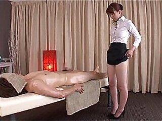 Subtitled normal Japanese bottomless massage Yui Hatano