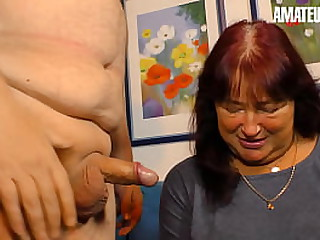 XXX OMAS - Deutsche BBW Little one Takes Weasel words Insusceptible to Her Saucy Shrewd Ever